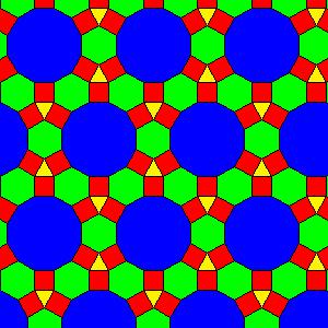 A regular tiling