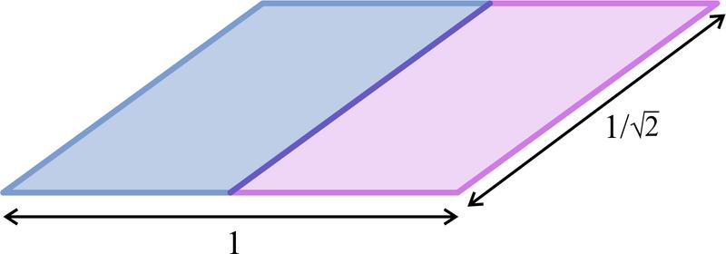 Rep-tile parallelogram